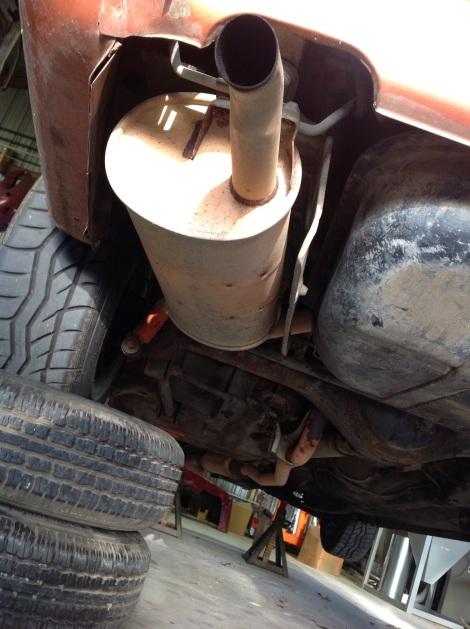 RA29 Exhaust